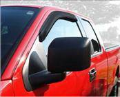 Accessories - Wind Deflectors - AVS - Ford F150 AVS Ventvisor Deflector - 2PC - 92741