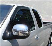 Accessories - Wind Deflectors - AVS - Ford F150 AVS Ventvisor Deflector - 2PC - 92754
