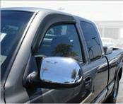 Accessories - Wind Deflectors - AVS - Toyota Tundra AVS Ventvisor Deflector - 2PC - 92755