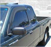 Accessories - Wind Deflectors - AVS - Toyota Tacoma AVS Ventvisor Deflector - 2PC - 92925
