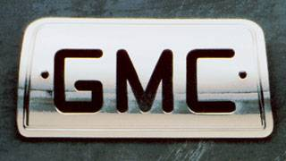 Headlights & Tail Lights - Third Brake Lights - All Sales - All Sales Third Brake Light Cover - GMC Design - Brushed - 94007