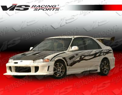 Civic 4Dr - Body Kits - VIS Racing. - Honda Civic 4DR VIS Racing Wings Full Body Kit - 92HDCVC4DWIN-099