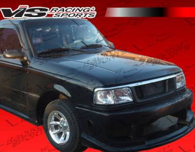 Ranger - Body Kits - VIS Racing - Ford Ranger VIS Racing Striker Full Body Kit - 93FDRAN2DSTR-099