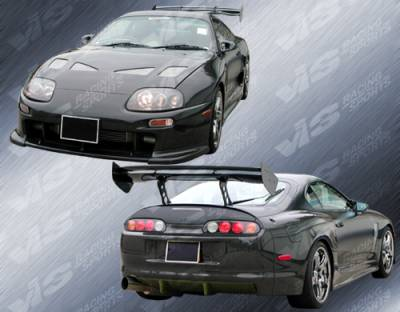 Supra - Body Kits - VIS Racing - Toyota Supra VIS Racing Techno R Widebody Full Body Kit - 93TYSUP2DTNRWB-099