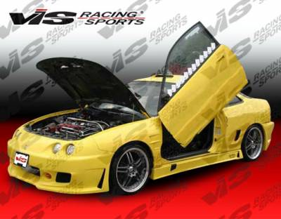 Integra 2Dr - Body Kits - VIS Racing - Acura Integra 2DR VIS Racing TSC-3 Full Body Kit - 94ACINT2DTSC3-099