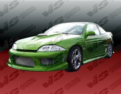 Cavalier 2Dr - Body Kits - VIS Racing - Chevrolet Cavalier 2DR VIS Racing Striker Full Body Kit - 95CHCAV2DSTR-099