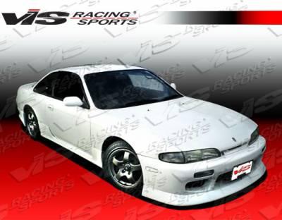 240SX - Body Kits - VIS Racing - Nissan 240SX VIS Racing V Speed Full Body Kit - 95NS2402DVSP-099