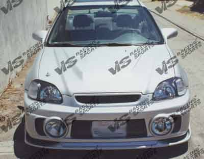 Civic 2Dr - Body Kits - VIS Racing - Honda Civic 2DR & 4DR VIS Racing Evolution Full Body Kit - 96HDCVC2DEVO-099