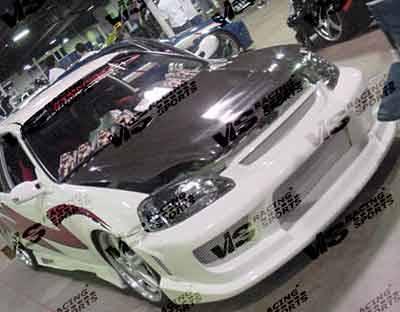 Civic 2Dr - Body Kits - VIS Racing - Honda Civic 2DR VIS Racing Striker Full Body Kit - 96HDCVC2DSTR-099