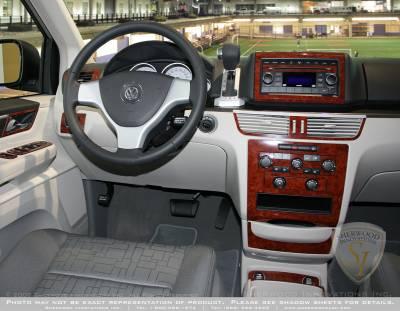 Car Interior - Interior Trim Kits - Sherwood - Volkswagen Routan Sherwood 2D Flat Dash Kit