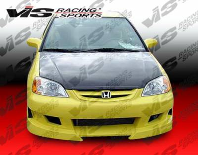 Prelude - Body Kits - VIS Racing - Honda Prelude VIS Racing Viper Full Body Kit - 97HDPRE2DVR-099
