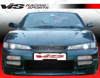 240SX - Body Kits - VIS Racing - Nissan 240SX VIS Racing Xtreme Full Body Kit - 97NS2402DEX-099