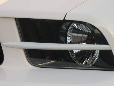 Headlights & Tail Lights - Headlight Covers - AM Custom - Ford Mustang Headlight Splitters - 98600