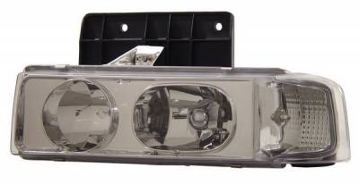 Headlights & Tail Lights - Headlights - Anzo - Chevrolet Astro Anzo Headlights - Chrome - 1PC - 111001