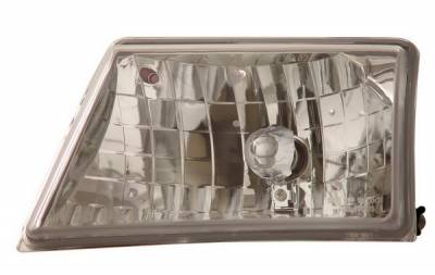 Headlights & Tail Lights - Headlights - Anzo - Ford Ranger Anzo Headlights - Crystal & Chrome - 111037
