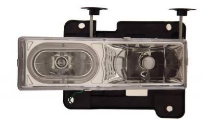 Headlights & Tail Lights - Headlights - Anzo - GMC Yukon Anzo Headlights - Crystal & Clear with Halo - CCFL - 111057
