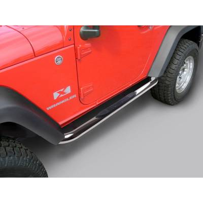 Suv Truck Accessories - Running Boards - Outland - Jeep Wrangler Outland Nerf Step Bar
