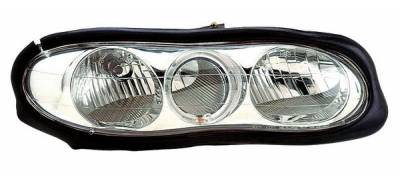 Headlights & Tail Lights - Headlights - Anzo - Chevrolet Camaro Anzo Headlights - with Halo - Chrome - 121025