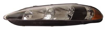 Headlights & Tail Lights - Headlights - Anzo - Dodge Intrepid Anzo Headlights - Crystal & Black - 121027