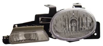 Headlights & Tail Lights - Headlights - Anzo - Dodge Neon Anzo Headlights - Crystal with Parking Lamp - Chrome - 121032