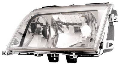 Headlights & Tail Lights - Headlights - Anzo - Mercedes-Benz C Class Anzo Headlights - Crystal & Chrome - 121081