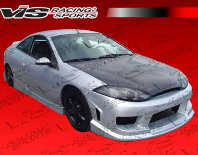 Cougar - Body Kits - VIS Racing - Mercury Cougar VIS Racing Striker Full Body Kit - 99MYCOU2DSTR-099