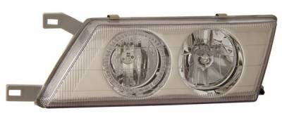 Headlights & Tail Lights - Headlights - Anzo - Nissan Sentra Anzo Headlights - with Halo - Chrome - 121115