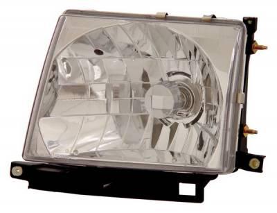 Headlights & Tail Lights - Headlights - Anzo - Toyota Tacoma Anzo Headlights - Crystal & Chrome - 121132