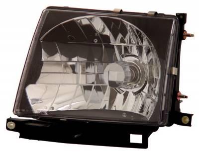Headlights & Tail Lights - Headlights - Anzo - Toyota Tacoma Anzo Headlights - JDM Black - 121139
