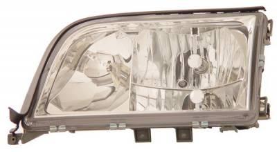 Headlights & Tail Lights - Headlights - Anzo - Mercedes-Benz S Class Anzo Headlights - Crystal - 121145