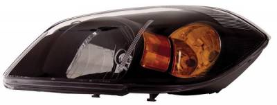 Headlights & Tail Lights - Headlights - Anzo - Chevrolet Cobalt Anzo Headlights - Black - 121154