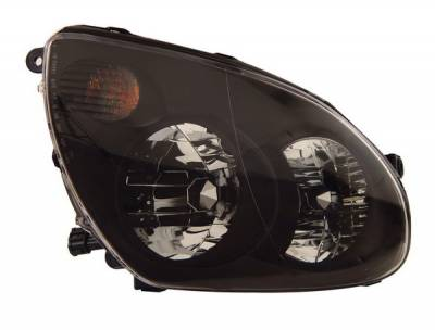 Headlights & Tail Lights - Headlights - Anzo - Infiniti G35 4DR Anzo Headlights - Black - 121172