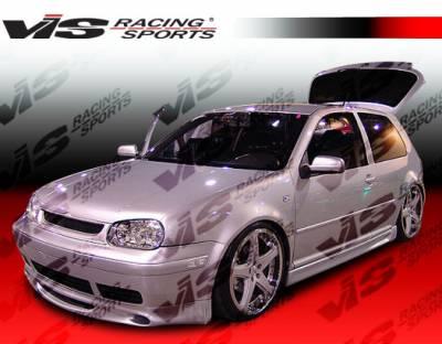 Golf - Body Kits - VIS Racing - Volkswagen Golf VIS Racing A Tech Full Body Kit - 99VWGOF2DATH-099