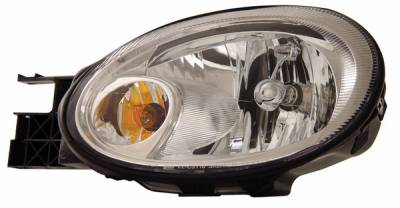 Headlights & Tail Lights - Headlights - Anzo - Dodge Neon Anzo Headlights - Crystal & Chrome - 121187