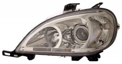 Headlights & Tail Lights - Headlights - Anzo - Mercedes ML Anzo Projector Headlights - 121189