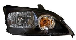 Headlights & Tail Lights - Headlights - Anzo - Ford Focus Anzo Headlights - Black & Clear - 121229
