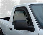 Accessories - Wind Deflectors - AVS - Ford Ranger AVS In-Channel Ventvisor Deflector - 2PC - 192083