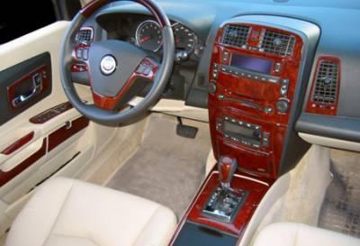 Car Interior - Interior Trim Kits - Sherwood - Cadillac STS Sherwood 2D Flat Dash Kit