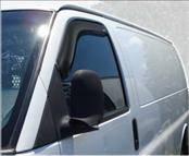 Accessories - Wind Deflectors - AVS - Chevrolet Kodiak AVS In-Channel Ventvisor Deflector - 2PC - 192455