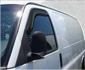 Accessories - Wind Deflectors - AVS - GMC Savana AVS In-Channel Ventvisor Deflector - 2PC - 192455