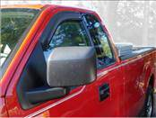 Accessories - Wind Deflectors - AVS - Ford F150 AVS In-Channel Ventvisor Deflector - 2PC - 192805
