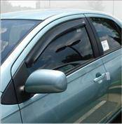 Accessories - Wind Deflectors - AVS - Toyota Yaris AVS In-Channel Ventvisor Deflector - 2PC - 192916