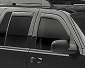 Accessories - Wind Deflectors - AVS - Chevrolet Tahoe AVS In-Channel Ventvisor Deflector - 4PC - 194095