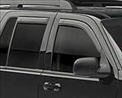 Accessories - Wind Deflectors - AVS - Jeep Commander AVS In-Channel Ventvisor Deflector - 194117