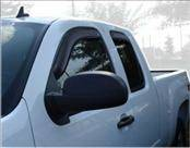 Accessories - Wind Deflectors - AVS - Ford F150 AVS In-Channel Ventvisor Deflector - 4PC - 194155