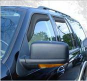 Accessories - Wind Deflectors - AVS - Ford Expedition AVS In-Channel Ventvisor Deflector - 4PC - 194233