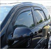 Accessories - Wind Deflectors - AVS - Chevrolet Equinox AVS In-Channel Ventvisor Deflector - 4PC - 194319