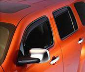 Accessories - Wind Deflectors - AVS - Dodge Caliber AVS In-Channel Ventvisor Deflector - 4PC - 194323