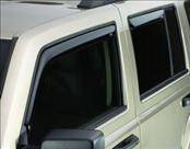 Accessories - Wind Deflectors - AVS - Jeep Compass AVS In-Channel Ventvisor Deflector - 4PC - 194330