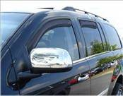 Accessories - Wind Deflectors - AVS - Chrysler Aspen AVS In-Channel Ventvisor Deflector - 4PC - 194344